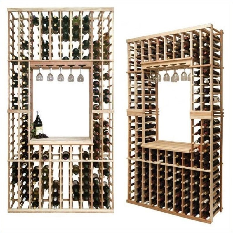 "Wine Cellar Innovations Vintner Series 84"" Hollowed Center Wine Rack Kit"