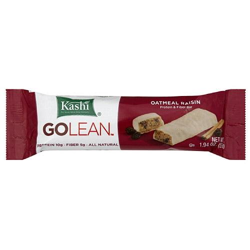 Kashi Golean Oatmeal Raisin Protein & Fiber Bar, 1.94 oz (Pack of 12)