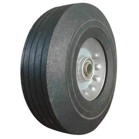 Solid Rubber Wheel,8 in.,400 lb.,Sym ZORO SELECT 1NWZ4