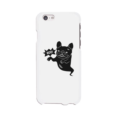 Boo French Bulldog Ghost White Phone Case](Halloween Phone)