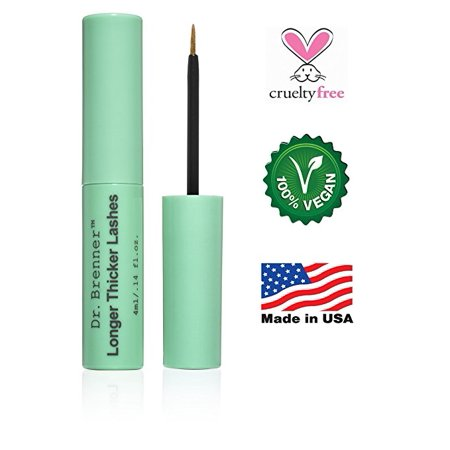 a045fe1464f Dr. Brenner Longer Thicker Lashes Serum to Enhance Eyelashes and Brows  Great for a Gift - Walmart.com
