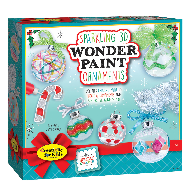 Creativity For Kids Sparkling 3D Wonder Paint Kit - Make ...