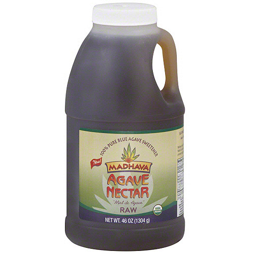 Madhava Raw Agave Nectar, 46 oz (Pack of 4)
