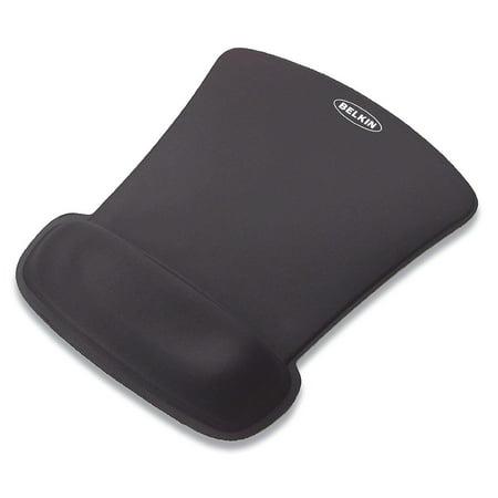 Pack of 2 Belkin WaveRest Wrist Rest Gel Mouse Pad, Black (F8E262-BLK) ()