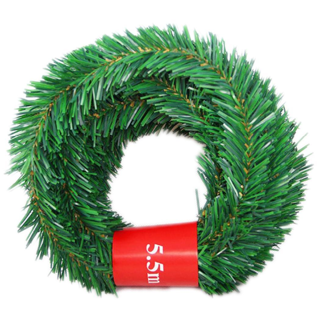 ChristmassPine Tree Branch Ribbon DIY Home Hanging Ornament Décor Caroj - image 3 of 8