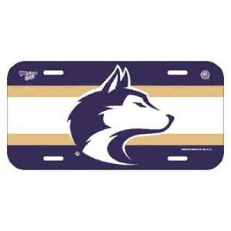 Washington Huskies Plastic License Plate
