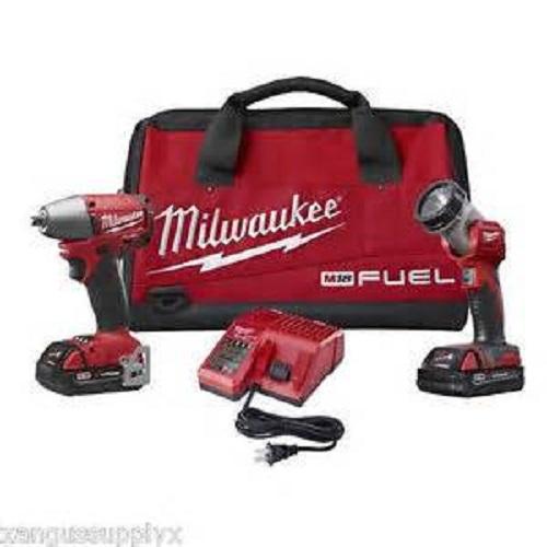 "Milwaukee 2795-22CT M18 Fuel 3/8"" Inch Cordless Impact Wr..."