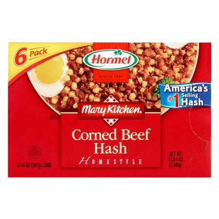 Product of Hormel Mary's Kitchen Corned Beef Hash, 6 pk./14 oz. [Biz