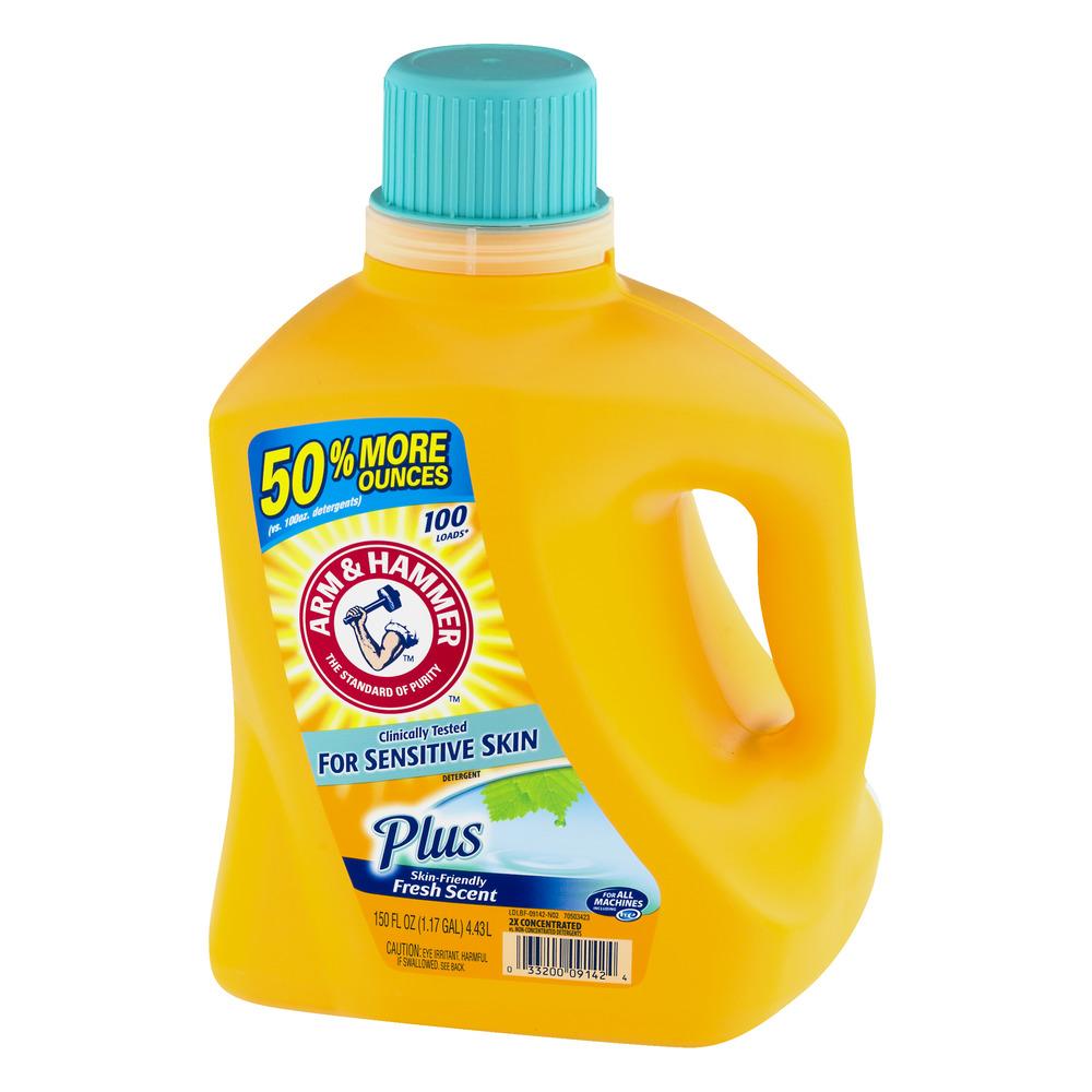 arm u0026 hammer ultra laundry detergent for sensitive skin 96 loads walmartcom
