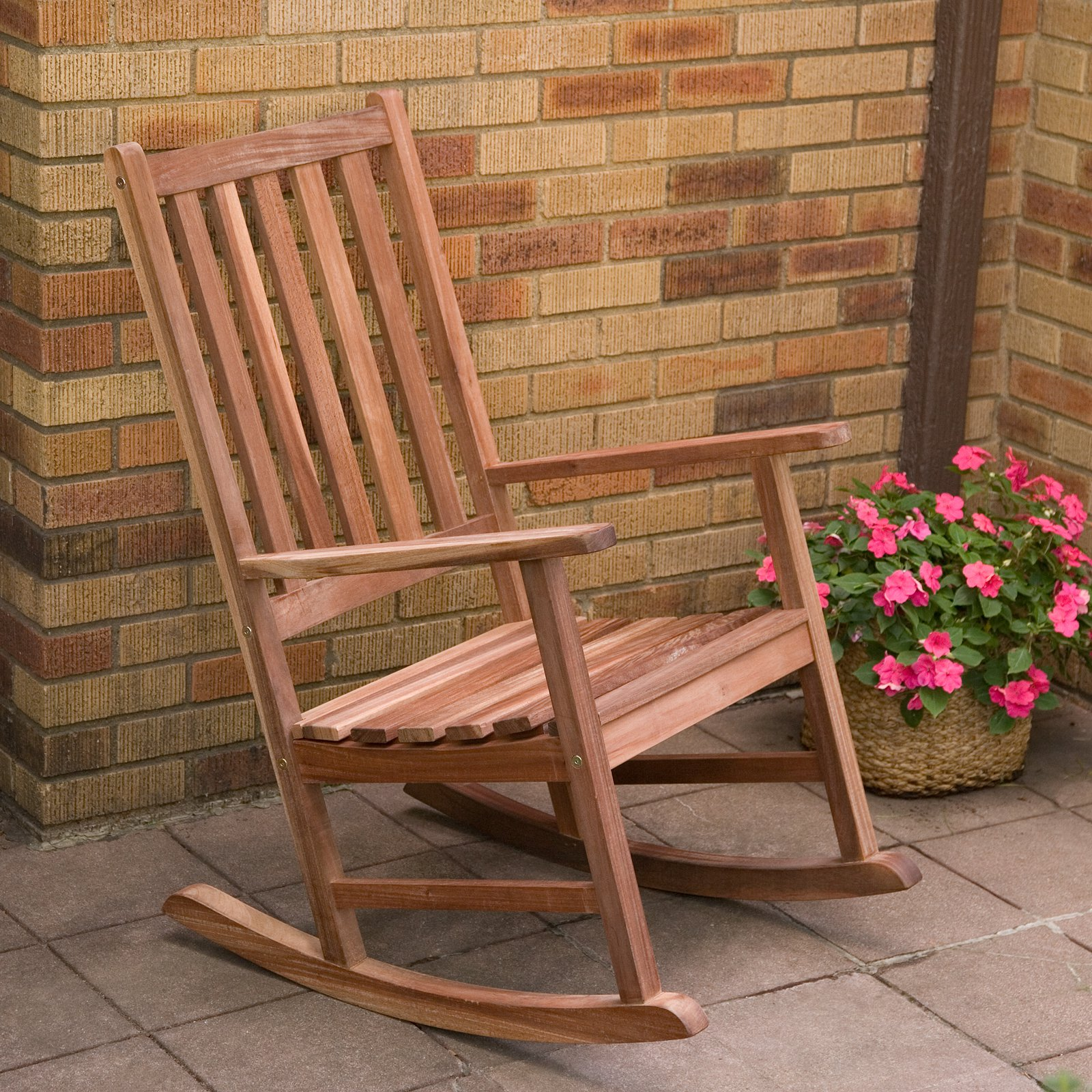 Folding wooden rocking chair - Belham Living Richmond Heavy Duty Outdoor Wooden Rocking Chair Walmart Com