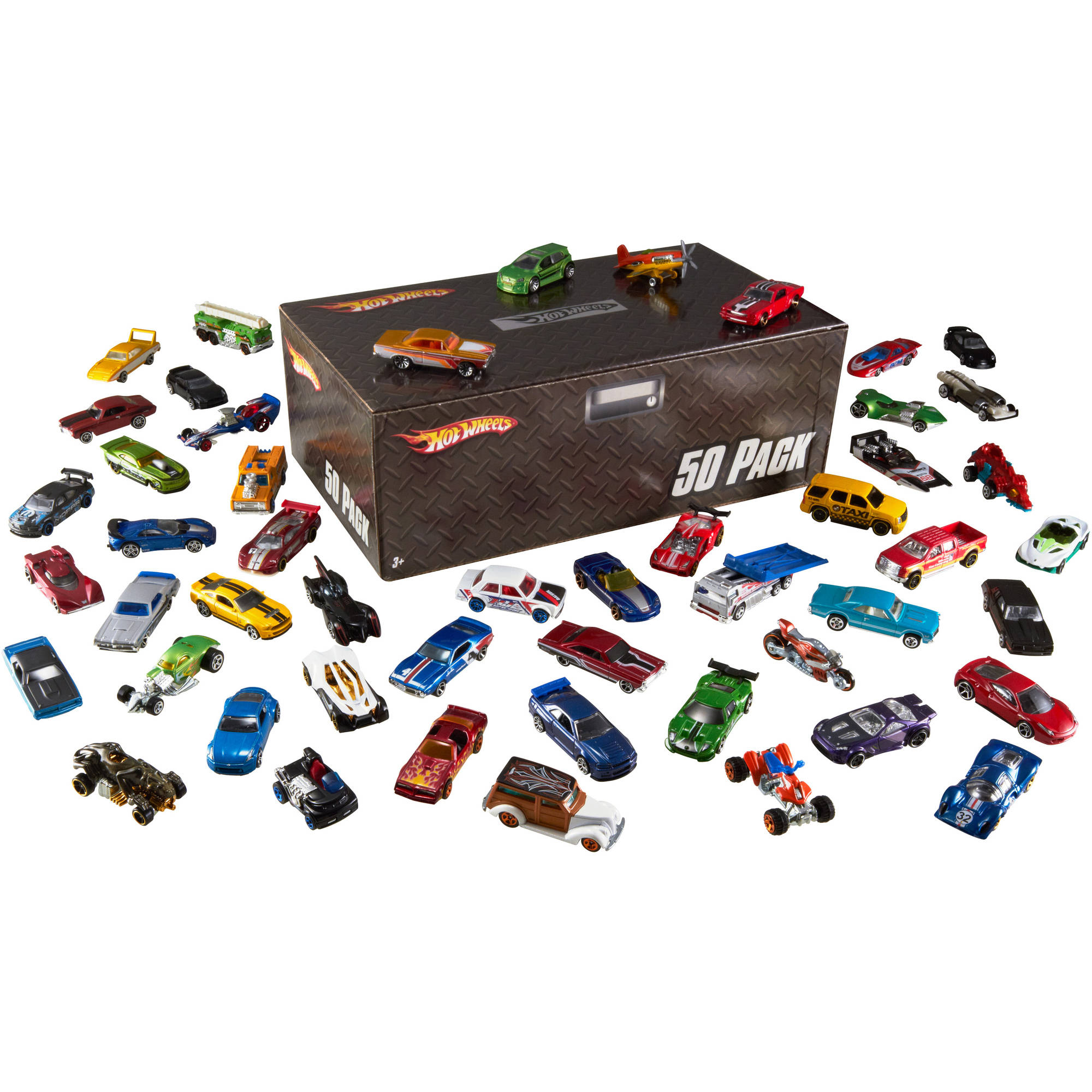 Hot Wheels Cars, 50-Pack