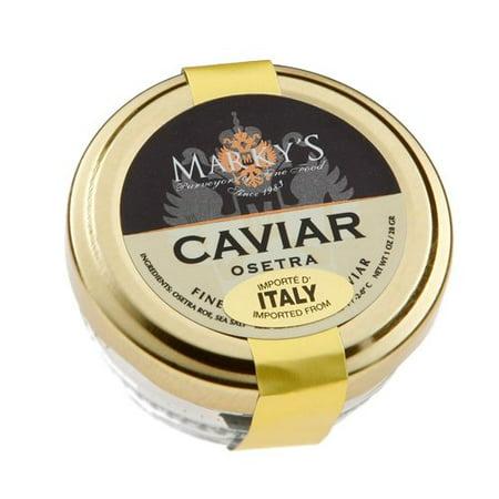 Farmed White Sturgeon Caviar, Italy - 4 oz (White Sturgeon Caviar)