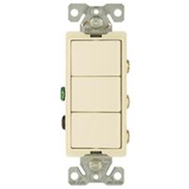 15A Decorator Combination Switch, Light Almond - image 1 of 1