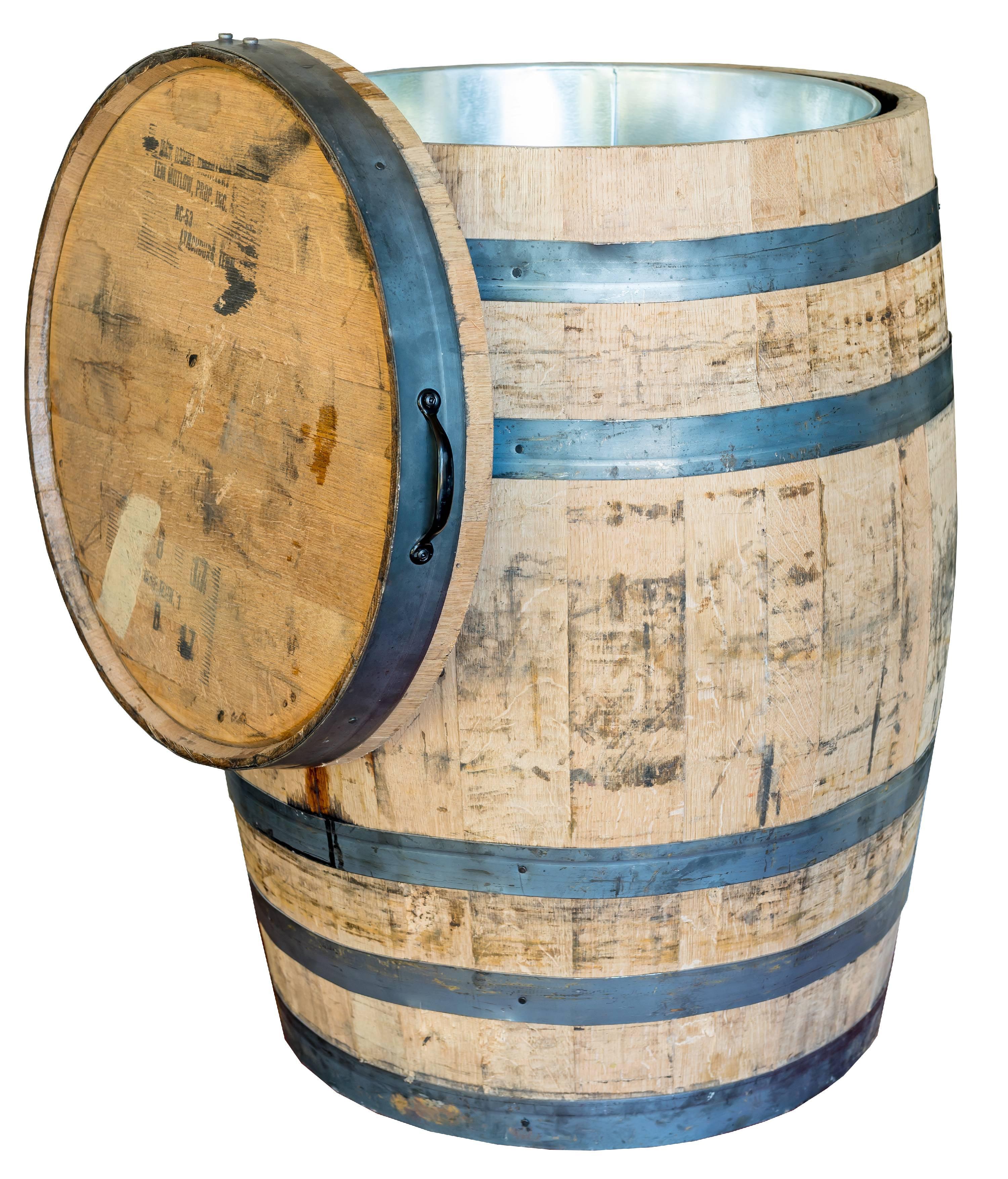 Authentic Whole Oak Wine Barrel Repurposed Walmartcom