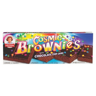 Little Debbie Cosmic Brownies 6 Count, 1 Box by