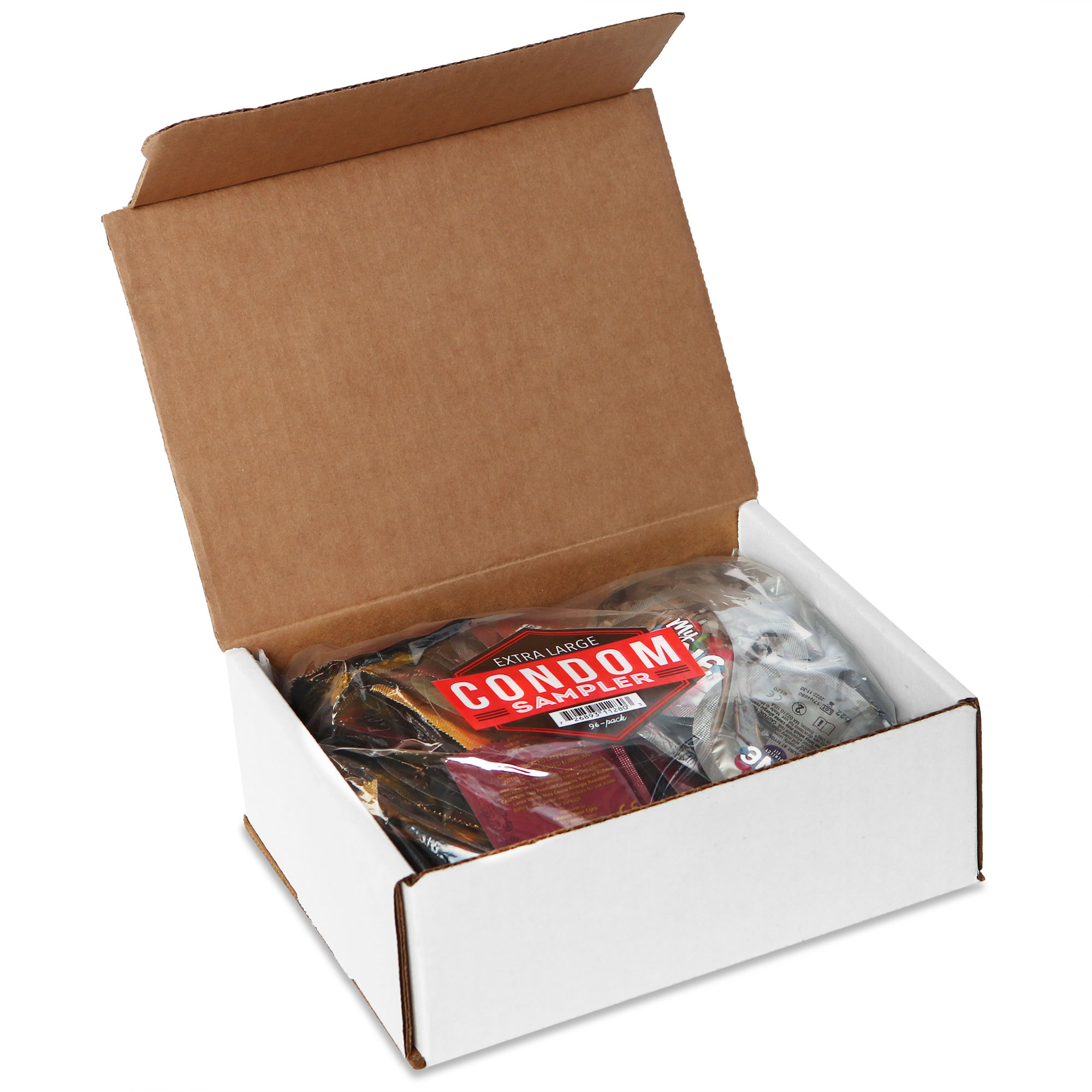 Extra Large Condom Sampler, 96-Count