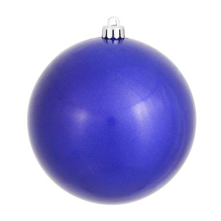 "Vickerman 310434 - 4.75"" Cobalt Pearl Finish Ball Christmas Tree Ornament (N591222P)"