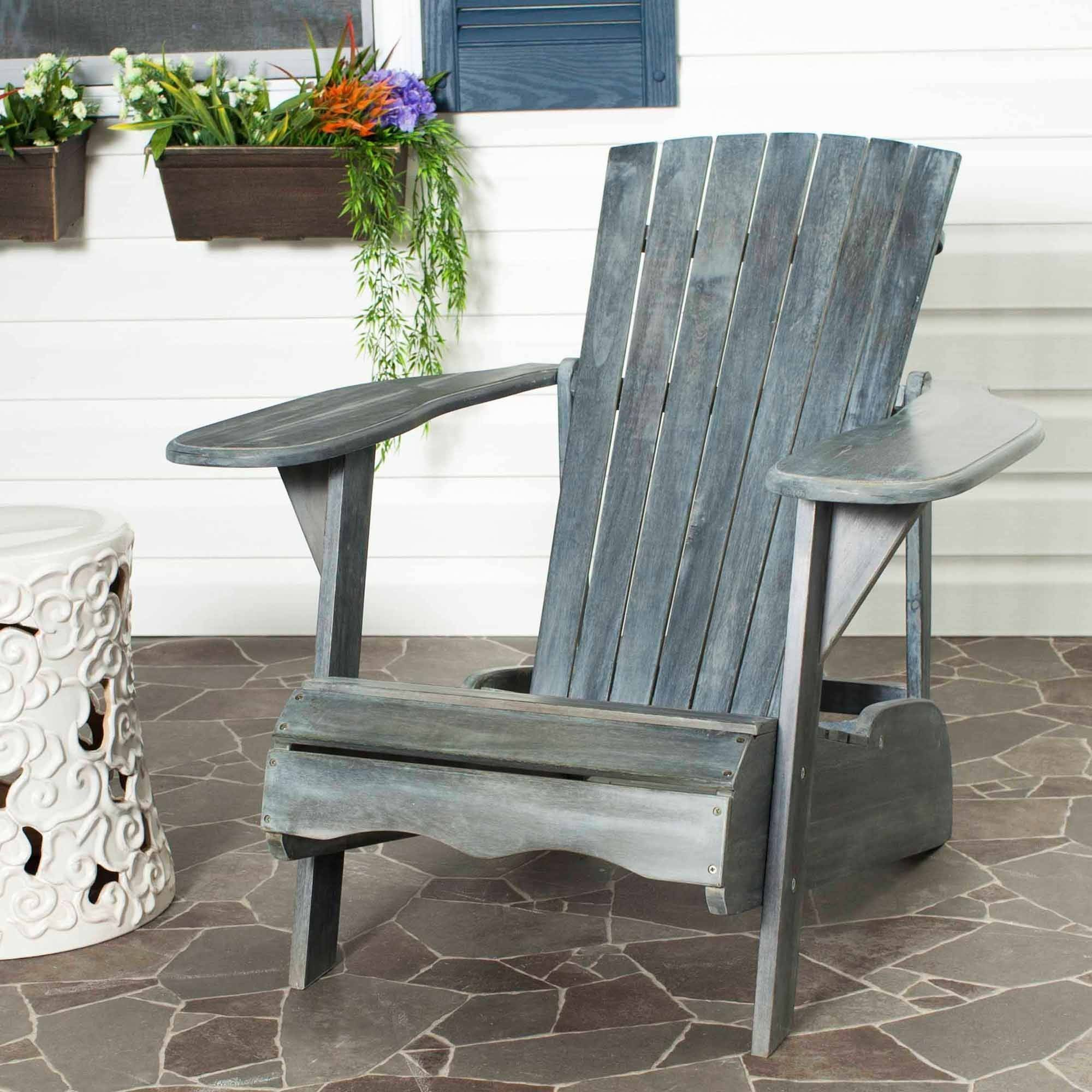 Safavieh Mopani Outdoor Adirondack Chair