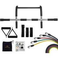 Wacces New Pull Up Chin Up Bar And 5 Resistance Bands