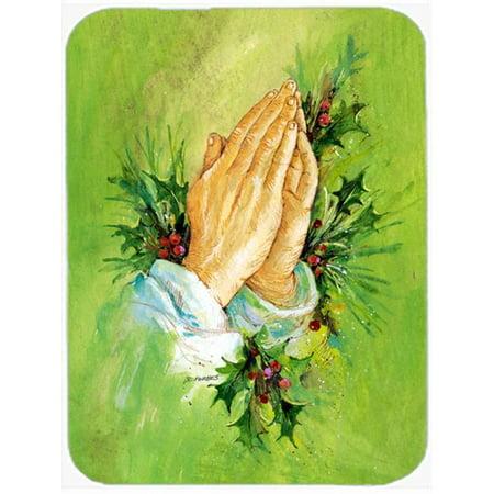 Carolines Treasures AAH5985MP Praying Hangs with Holly Leaves Mouse Pad, Hot Pad or Trivet - image 1 de 1