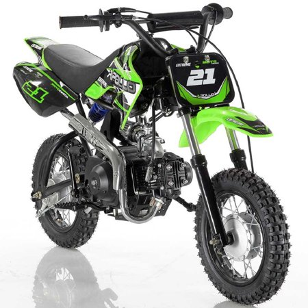Green Apollo DB-21 70cc Semi Automatic Dirt (Semi Automatic Dirt Bikes)