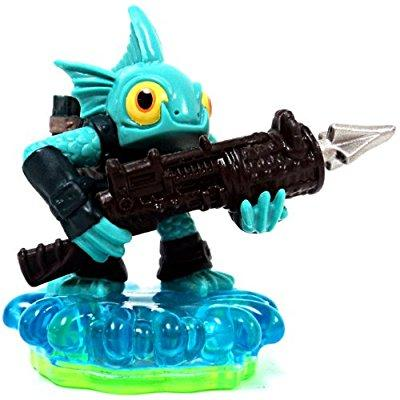 Skylanders Spyros Adventure LOOSE Mini Figure GILL GRUNT Includes Online Code