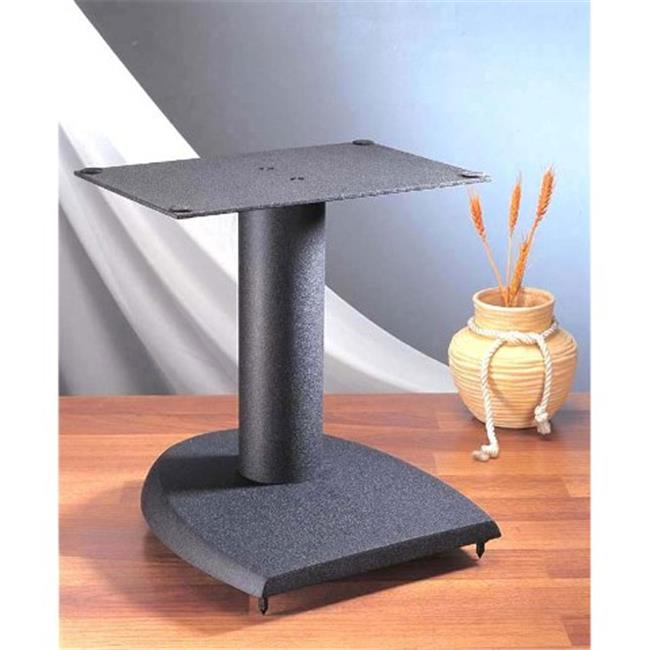 VTI Manufacturing DFC 13 in. H, Iron Center Channel Speaker Stand - Black