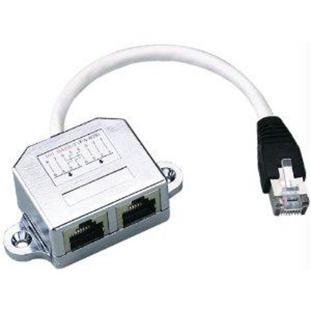 Terminate Shielded Cat5 (Intellinet Allows Two Rj45 Ports To Share One Cat5 Shielded Network Cable )