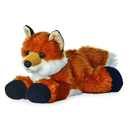 "Aurora Foxie Fox Mini Flopsie 8"" Stuffed Animal Plush - image 3 of 3"