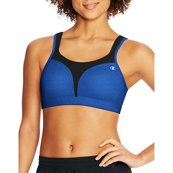 031ba5978 Elastic along edges of sides and back for custom fit. Tagless. Leotard  back. Women s Champion 1602 Spot Comfort Max Support Molded Cup Sports Bra