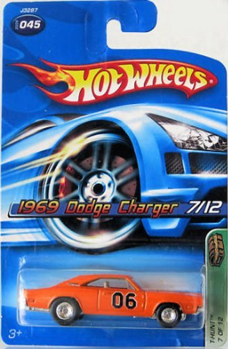 1969 DODGE CHARGER 2006 Hot Wheels Treasure Hunt (7 12) 1:64 Scale Collectible Die Cast Car by Mattel