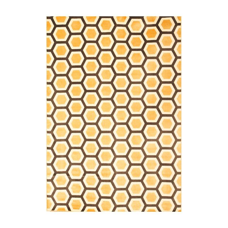 Image of Abacasa Sonoma Honeycomb Area Rug