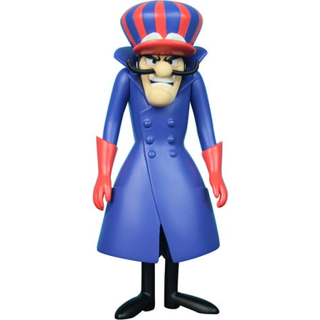 X Plus USA Inc. Hanna Barbera History Collection Dick Dastardly Action Figure
