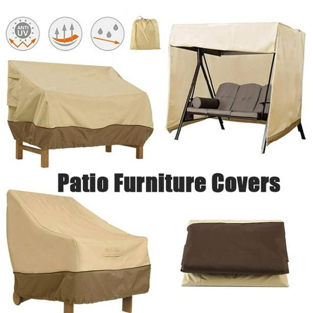 New Outdoor Patio Furniture Cover Oxford Waterproof Sofa Protection Set Patio Rain Snow Dustproof Covers Walmart Com Walmart Com