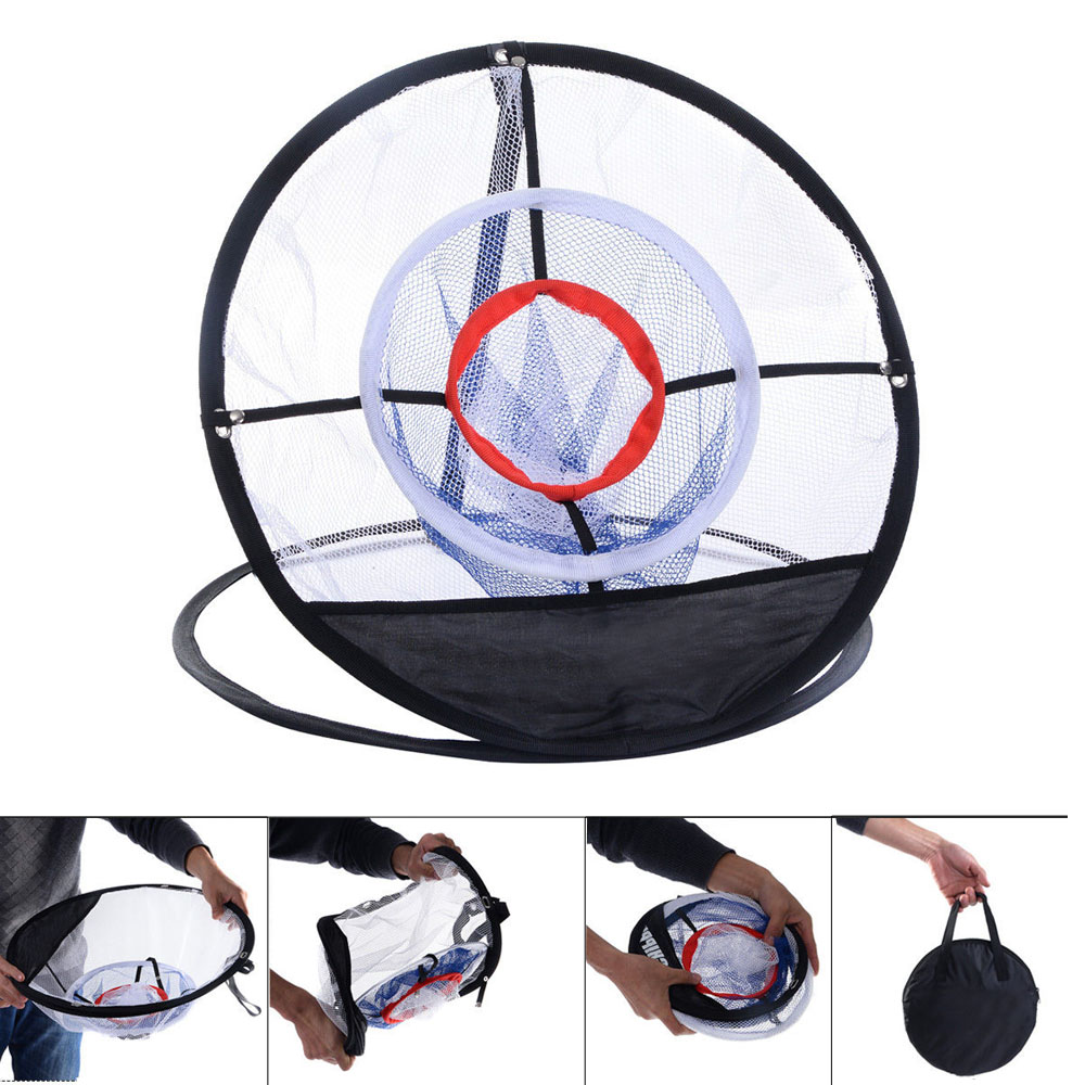 "Portable 20"" Golf Training Chipping Net Hitting Aid Practice Indoor  Outdoor Bag by"