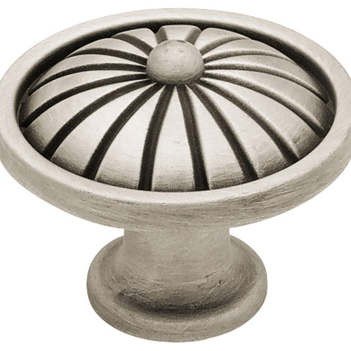 Liberty 38mm French Tassel Knob, Brushed Satin Pewter