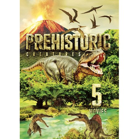5-Movie: Prehistoric Creatures (DVD) (Impossible Creatures Best Combinations)