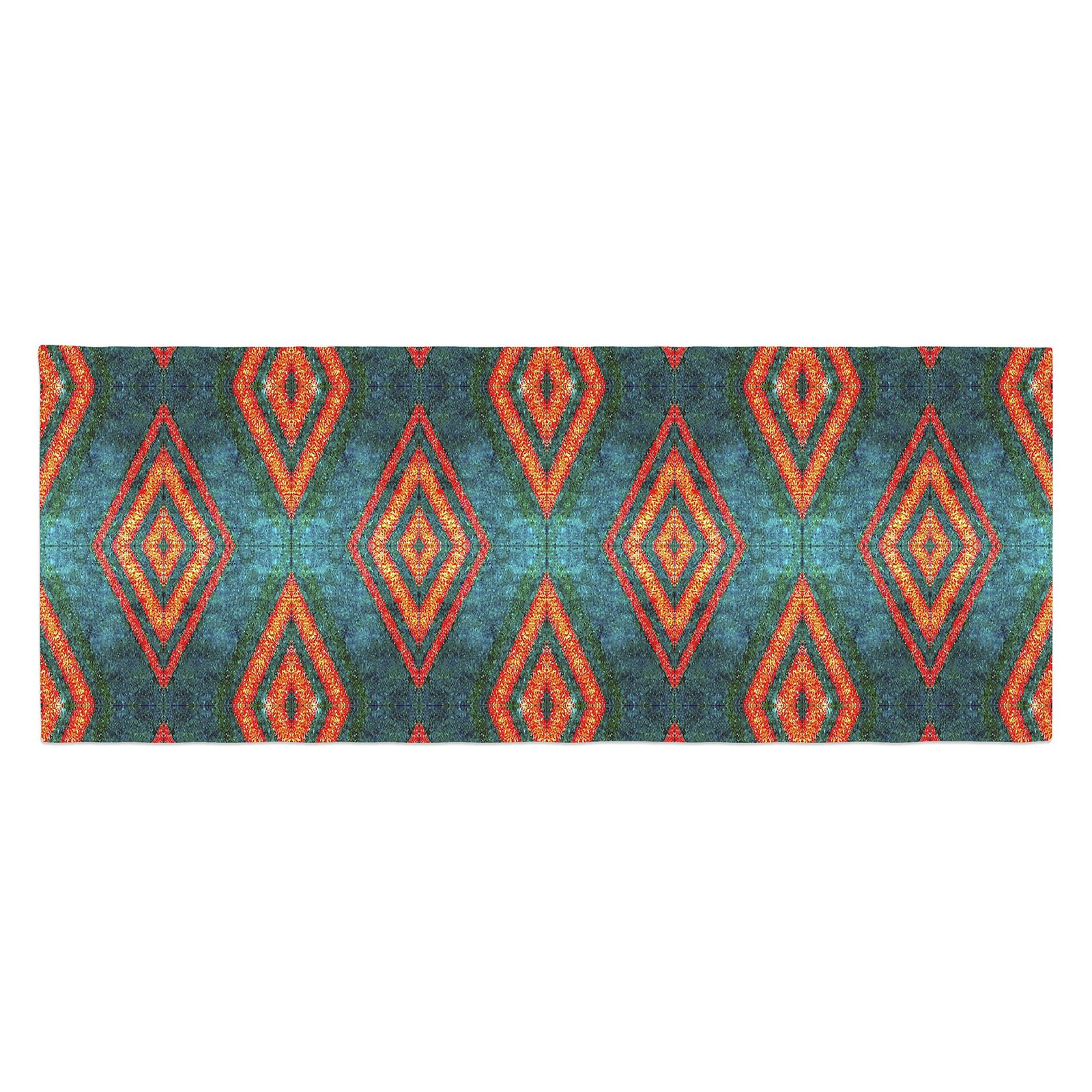 Anne LaBrie Diamond Sea Bed Runner by Kess InHouse