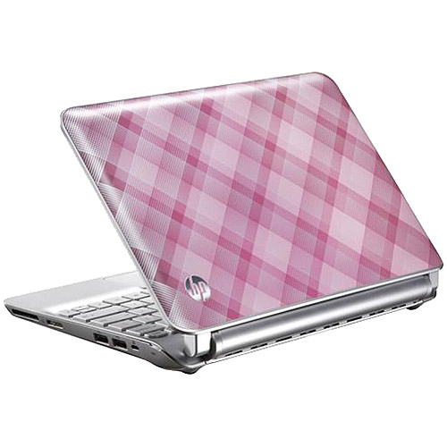"HP Pink 10.1"" 210-2145DX Netbook PC with Intel Atom N455 Processor and Windows 7 Starter, Refurbished"