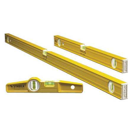 Stabila 29824 3-piece Torpedo Level Set