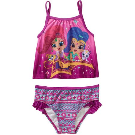 Shimmer & Shine Toddler Girl Tankini 2-piece Swimsuit