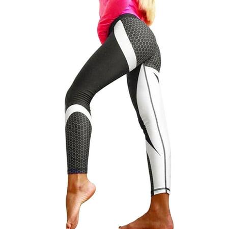 61ef3995d23fd Sexy Dance - Women Sport Athletic Pants Elastic Waist Yoga Fitness Leggings  Running Gym Trousers Printing Workout Activewear Bottoms - Walmart.com