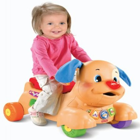 Fisher-Price Laugh & Learn Stride-to-Ride Puppy (Fisher Price Laugh And Learn Puppy Push Car)