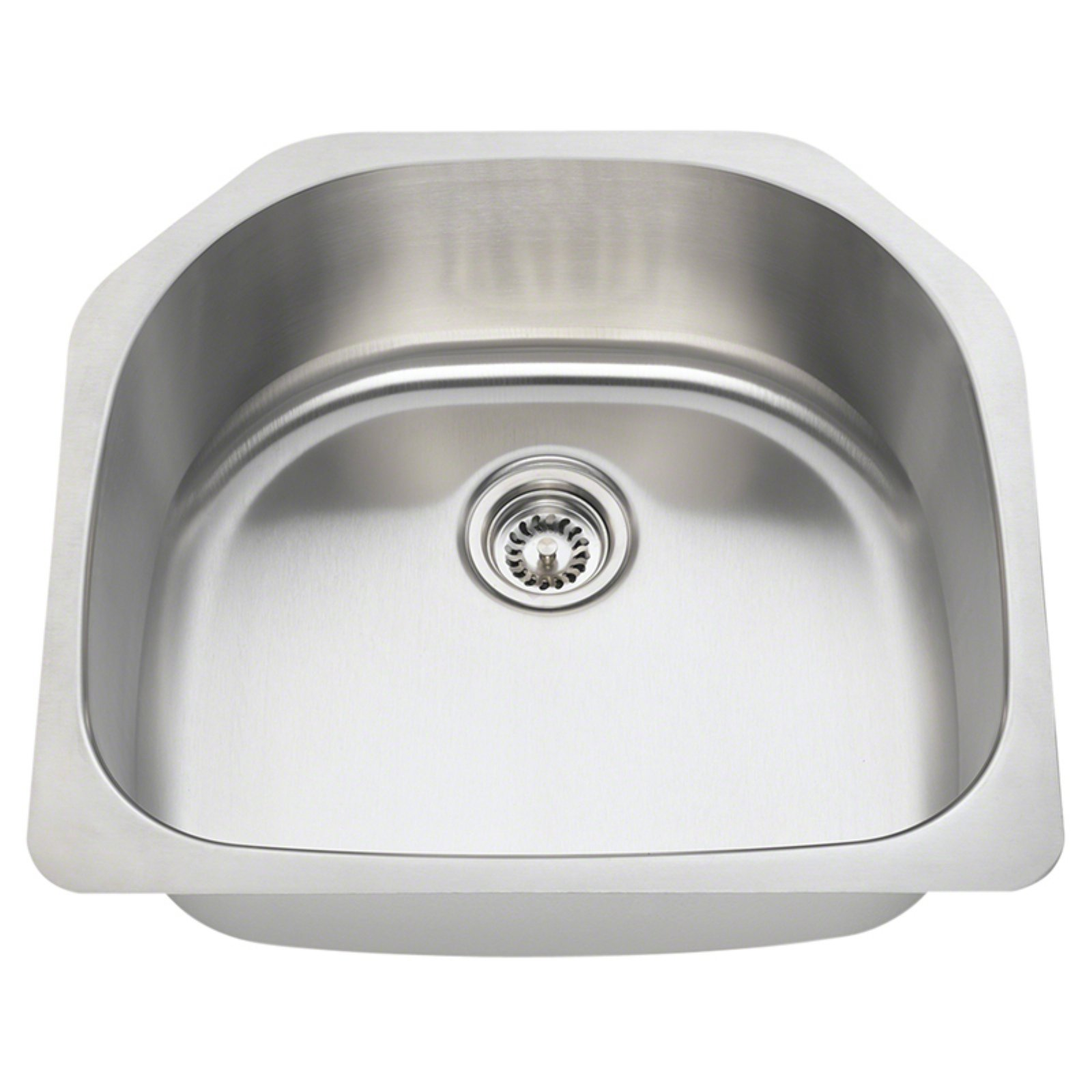 Polaris Sinks P1242 Single Basin Undermount Kitchen Sink