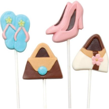 Make N Mold 0276 Purse and Shoe Pop Candy Mold- pack of 6