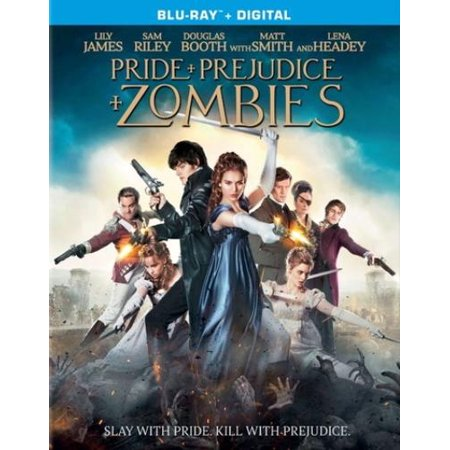 Pride   Prejudice   Zombies  Blu Ray