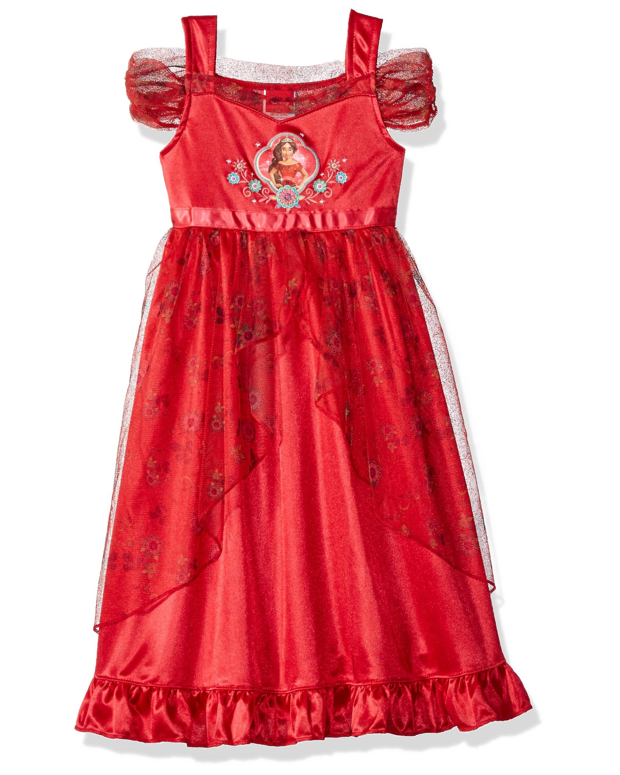 Elena of Avalor Nightgown for Girls Red