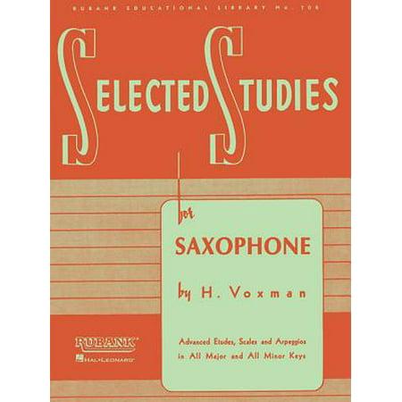 Selected Studies : For - Selected Studies Saxophone