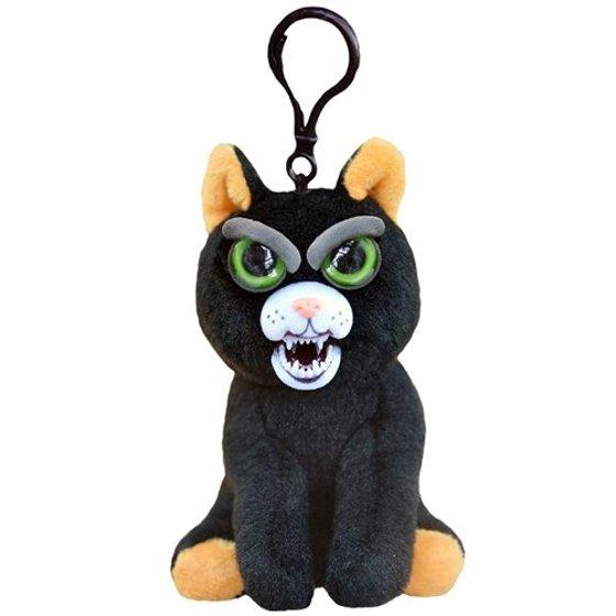 William Mark Feisty Pets Mini Black Cat Katy Cobweb Plush