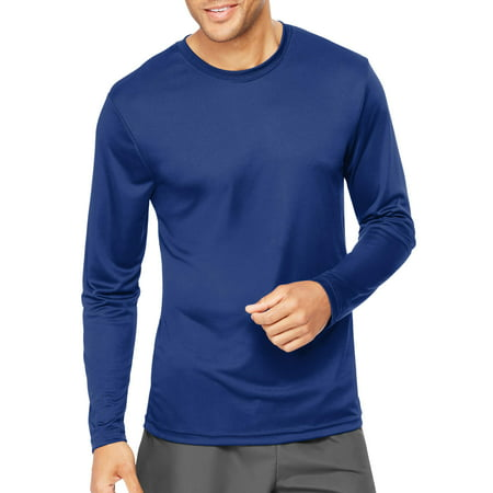 f3681bf03902b4 Hanes - Sport Mens Cool DRI Performance Long Sleeve Tshirt (50+ UPF ...